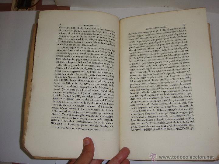 Libros antiguos: Annali dellInstituto di Corrispondenza Archeologica. 1863. Con laminas explicatorias. - Foto 3 - 51557392