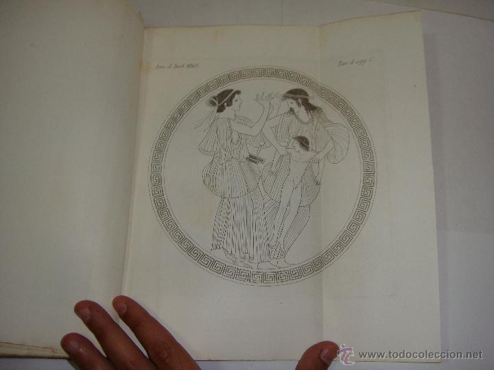 Libros antiguos: Annali dellInstituto di Corrispondenza Archeologica. 1863. Con laminas explicatorias. - Foto 5 - 51557392