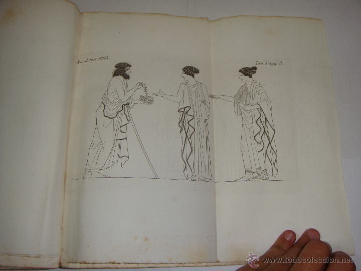Libros antiguos: Annali dellInstituto di Corrispondenza Archeologica. 1863. Con laminas explicatorias. - Foto 10 - 51557392