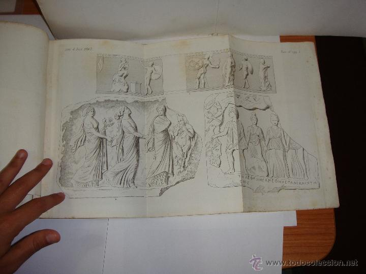 Libros antiguos: Annali dellInstituto di Corrispondenza Archeologica. 1863. Con laminas explicatorias. - Foto 12 - 51557392