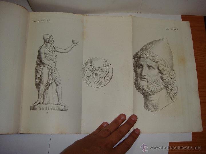 Libros antiguos: Annali dellInstituto di Corrispondenza Archeologica. 1863. Con laminas explicatorias. - Foto 15 - 51557392