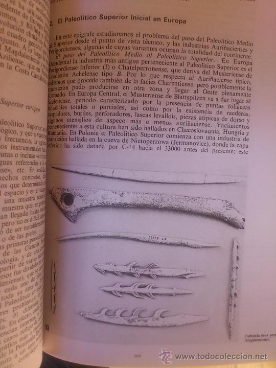 Libros antiguos: Manual prehistoria Europa y el hombre primitivo en china - Foto 4 - 175598419