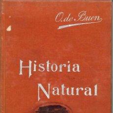 Libros antiguos: HISTORIA NATURAL 1911. Lote 53642646