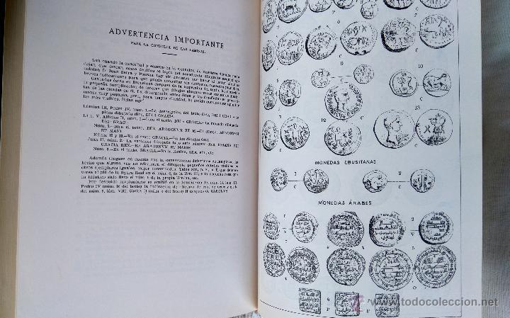 Libros antiguos: LIBRO NUMISMATICA BALEAR, AÑO 1879,LA MONEDA PLATA,ORO, DE MALLORCA,MENORCA,IBIZA, FACSIMIL 1978 - Foto 7 - 54007792
