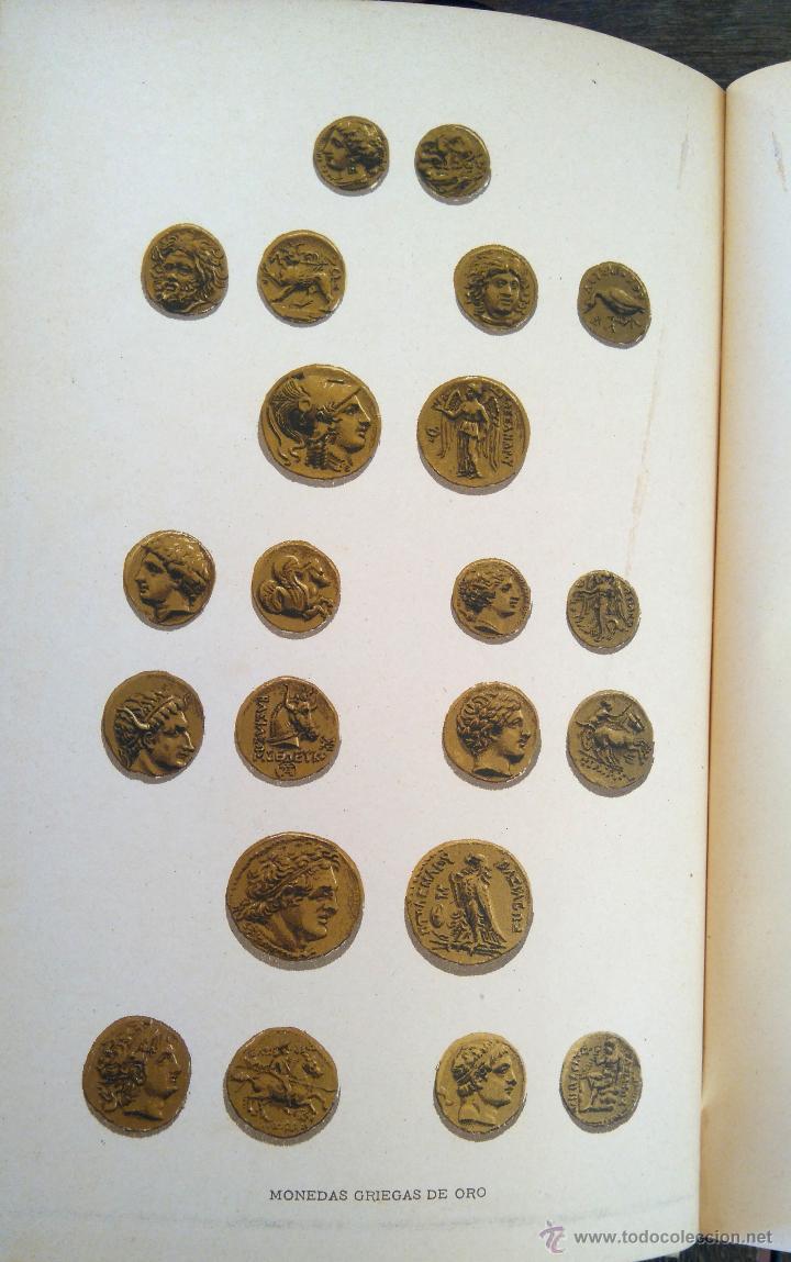 Libros antiguos: III TOMOS OBRA COMPLETA,HISTORIA DE LOS GRIEGOS,SIGLO XIX, AÑO 1891,TEMA MONEDA ORO,CERAMICA,ARTE, - Foto 6 - 54571613