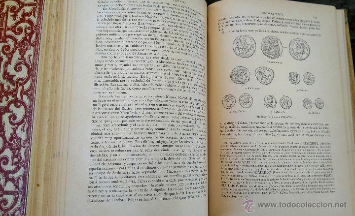 Libros antiguos: III TOMOS OBRA COMPLETA,HISTORIA DE LOS GRIEGOS,SIGLO XIX, AÑO 1891,TEMA MONEDA ORO,CERAMICA,ARTE, - Foto 9 - 54571613