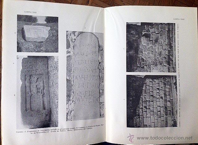 BLÁZQUEZ, J. M. : CAPARRA II. (CÁCERES) EXCAVACIONES, LÁMINAS FOTOGRÁFICAS. ARQUEOLOGÍA (Libros Antiguos, Raros y Curiosos - Ciencias, Manuales y Oficios - Arqueología)