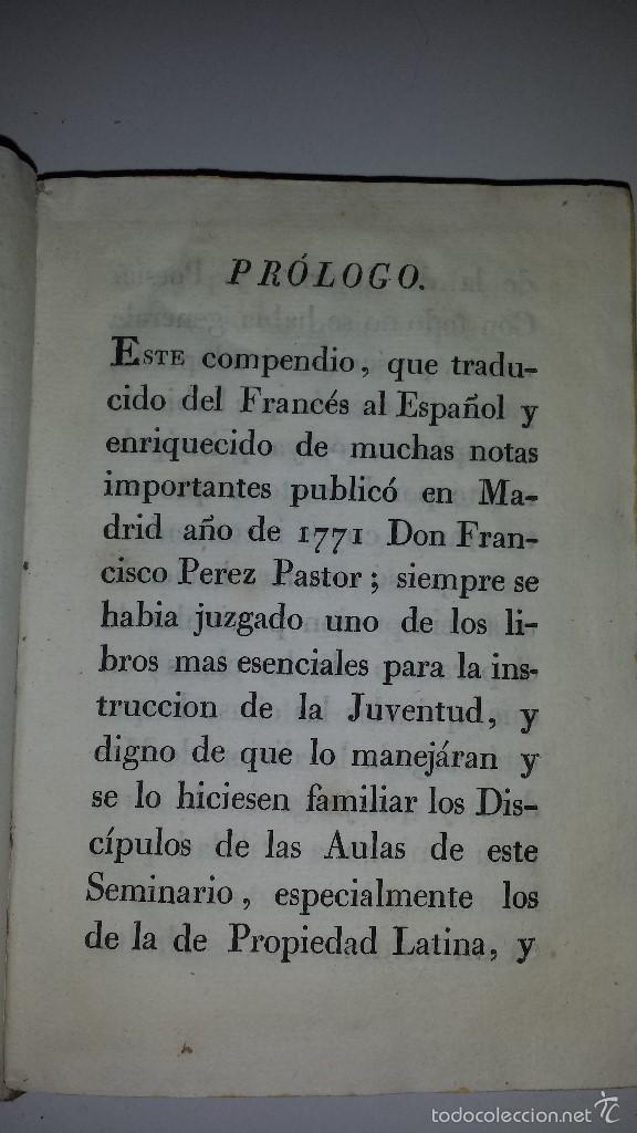 Libros antiguos: COMPENDIO DE LAS ANTIGUEDADES ROMANAS 1771 - Foto 3 - 60190319