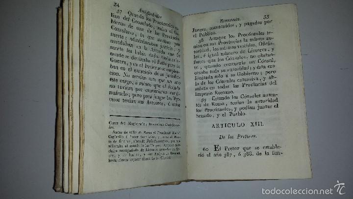 Libros antiguos: COMPENDIO DE LAS ANTIGUEDADES ROMANAS 1771 - Foto 4 - 60190319