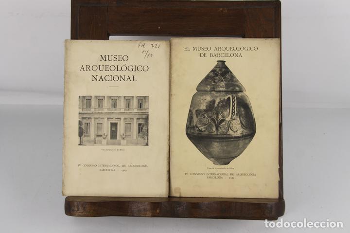 5087- MUSEO ARQUEOLOGICO DE BARCELONA Y NACIONAL. 2 EJEMPLARES. 1929. TIP. EMPORIUM. (Libros Antiguos, Raros y Curiosos - Ciencias, Manuales y Oficios - Arqueología)