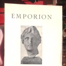 Libros antiguos: EMPORION IV INTERNATIONALER ARCHAEOLOGISCHER KONGRESS BARCELONA 1929 BON ESTAT . Lote 68160305