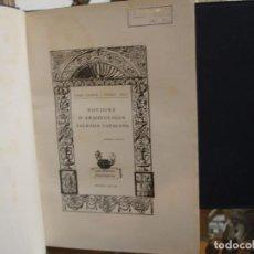 Libros antiguos: NOCIONS D'ARQUEOLOGIA SAGRADA CATALANA - JOSEP GUDIOL I CUNILL 2 TOMOS - PORTAL DEL COL·LECCIONISTA. Lote 70162613