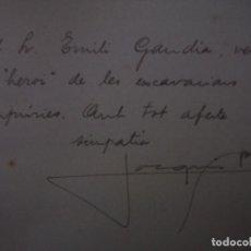Libros antiguos: RARO EJEMPLAR DEDICADO POR JOSE PLA CARGOL.EMPÚRIES I ROSES.1934. MUY ILUSTRADO. Lote 77535757