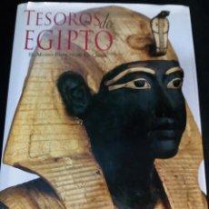 Libros antiguos: TESOROS DE EGIPTO (EL MUSEO EGIPCIO DE EL CAIRO ). Lote 79526421
