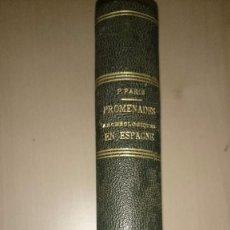 Libros antiguos: 1910 - PIERRE PARIS - ALTAMIRA CERRO DE LOS SANTOS ELCHE CARMONA OSUNA NUMANCIA TARRAGONA. Lote 80316673