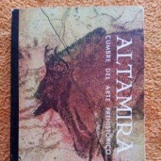 Libros antiguos: ALTAMIRA. CUMBRE DEL ARTE PREHISTORICO. EDICION LIMITADA A 1000 EJEMPLARES. 1968. Lote 80698894