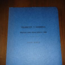 Libros antiguos: 1906 ALMERÍA VILLARICOS Y HERRERÍAS. ANTIGÜEDADES PÚNICAS, ROMANAS, VISIGÓTICAS Y ÁRABES - L. SIRET. Lote 87257368