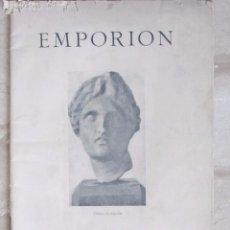 Libros antiguos: EMPORION. IV CONGRESO INTERNACIONAL DE ARQUEOLOGÍA. BOSCH GIMPERA, SERRA-RAFOLS. BARCELONA. 1929. Lote 93656250