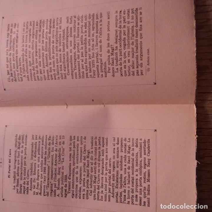 Libros antiguos: TARRAGONA - LA CAPELLA DE SANT MAGI - ANTONI PRENAFETA - IMP. TORRES & VIRGILI - 1928 - Foto 3 - 94392554