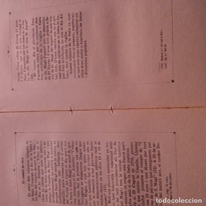 Libros antiguos: TARRAGONA - LA CAPELLA DE SANT MAGI - ANTONI PRENAFETA - IMP. TORRES & VIRGILI - 1928 - Foto 4 - 94392554