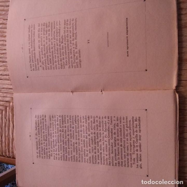Libros antiguos: TARRAGONA - LA CAPELLA DE SANT MAGI - ANTONI PRENAFETA - IMP. TORRES & VIRGILI - 1928 - Foto 5 - 94392554