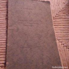 Libros antiguos: TARRAGONA - 1925 - PROBLEMES D'HISTORIA ANTIGA I D'ARQUEOLOGIA TARRAGONINA - TORRES VIRGILI. Lote 94394382