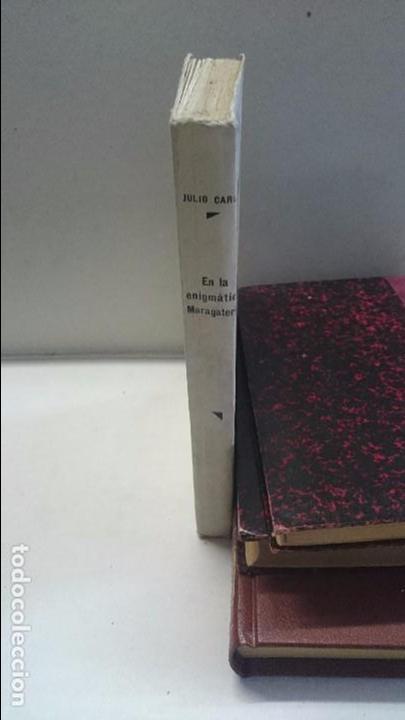 Libros antiguos: Julio Carro: En la enigmática maragateria (1934) - Foto 3 - 96069107