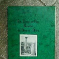 Libros antiguos: LES CIUTATS ROMANES DE FANG NORD AFRICA DE SERRA I VILARDO 1933 EJEMPLAR NUMERADO.. Lote 96489747