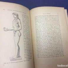Libros antiguos: MANUEL D'ARCHÉOLOGIE GRECQUE. COLLIGNON MAXIME. 1881, MUY ESCASSO. Lote 97486943