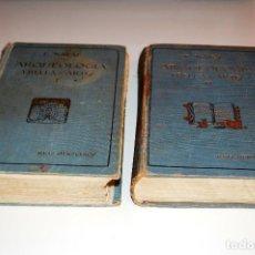Libros antiguos: LOS DOS TOMOS DE ARQUEOLOGÍA Y BELLAS ARTES. RUIZ HERMANOS (1922) VER INDICES Y FOTOS. Lote 103293907