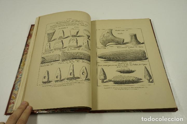 Libros antiguos: lage de pierre dans les souvenirs et superstitions populaires, E.Cartailhac, 1878, Paris. 18,5x27cm - Foto 7 - 193669847