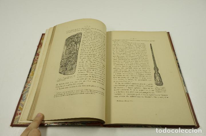 Libros antiguos: lage de pierre dans les souvenirs et superstitions populaires, E.Cartailhac, 1878, Paris. 18,5x27cm - Foto 2 - 193669847