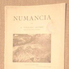 Libros antiguos: NUMANCIA B TARACENA AGUIRRE 1929 IV CONGRESO INTERNACIONAL DE ARQUEOLOGÍA, BARCELONA BON ESTAT FOTOS. Lote 104969627
