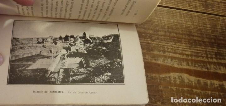 Libros antiguos: ITALICA, COMISION DE MONUMENTOS HISTORICOS Y ARTISTICOS DE LA PROVINCIA DE SEVILLA, SANTIAGO MONTOTO - Foto 5 - 112853771