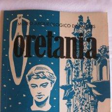 Libros antiguos: ORETANIA Nº 20 MUSEO DE LINARES. Lote 115351203