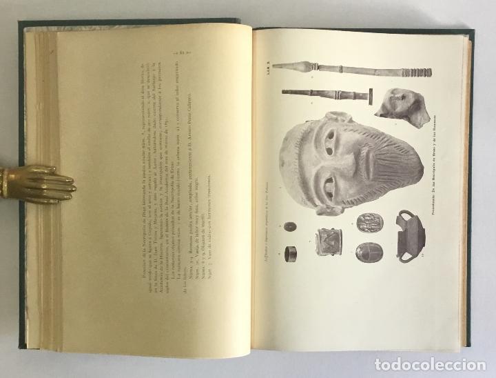 Libros antiguos: LOS NOMBRES È IMPORTANCIA ARQUEOLOGICA DE LAS ISLAS PYTHIUSAS. - ROMAN CALVET, Juan. - Foto 4 - 114799134