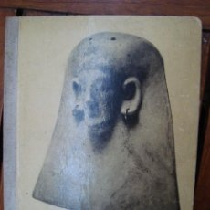Libros antiguos: LES TERRACUITES CARTAGINESES D'EIVISSA. JOSEP COROMINES. BARCELONA, 1938. IBIZA.. Lote 117768787