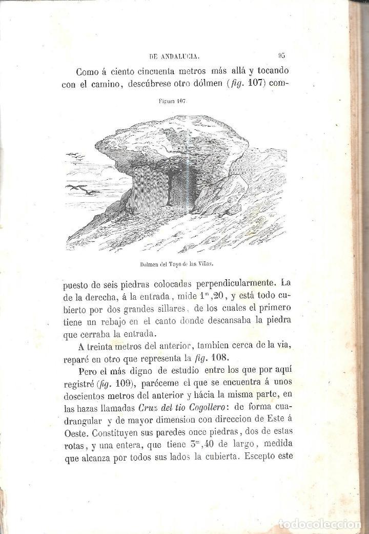 Libros antiguos: ANTIGÚEDADES PREHISTORICAS DE ANDALUCIA. D. MANUEL DE GÓNGORA Y MARTINEZ. 1868. - Foto 4 - 117796631