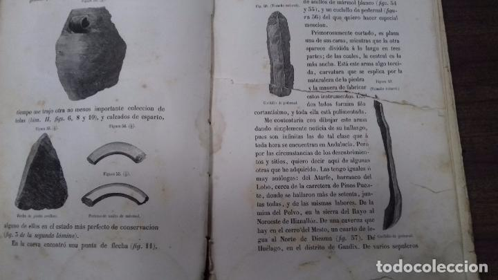 Libros antiguos: ANTIGÚEDADES PREHISTORICAS DE ANDALUCIA. D. MANUEL DE GÓNGORA Y MARTINEZ. 1868. - Foto 6 - 117796631