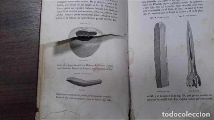 Libros antiguos: ANTIGÚEDADES PREHISTORICAS DE ANDALUCIA. D. MANUEL DE GÓNGORA Y MARTINEZ. 1868. - Foto 8 - 117796631