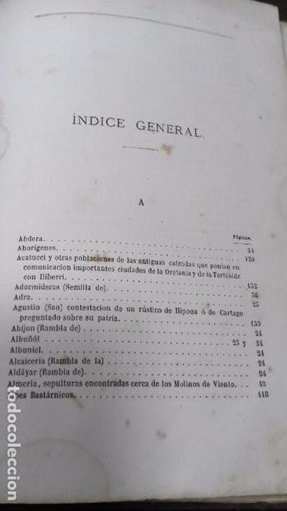 Libros antiguos: ANTIGÚEDADES PREHISTORICAS DE ANDALUCIA. D. MANUEL DE GÓNGORA Y MARTINEZ. 1868. - Foto 11 - 117796631