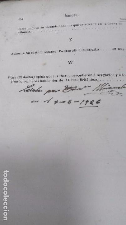 Libros antiguos: ANTIGÚEDADES PREHISTORICAS DE ANDALUCIA. D. MANUEL DE GÓNGORA Y MARTINEZ. 1868. - Foto 16 - 117796631