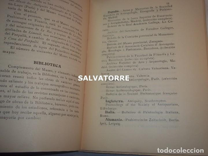 Libros antiguos: DIPUTACION VALENCIA.LABOR SERVICIO INVESTIGACION PREHISTORICA 1930. - Foto 3 - 121379495