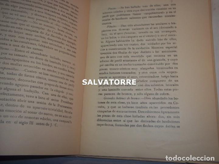 Libros antiguos: DIPUTACION VALENCIA.LABOR SERVICIO INVESTIGACION PREHISTORICA 1930. - Foto 4 - 121379495