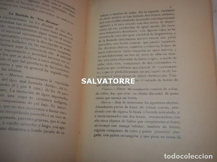 Libros antiguos: DIPUTACION VALENCIA.LABOR SERVICIO INVESTIGACION PREHISTORICA 1930. - Foto 5 - 121379495