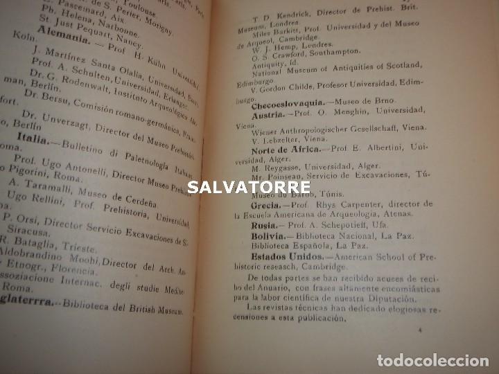 Libros antiguos: DIPUTACION VALENCIA.LABOR SERVICIO INVESTIGACION PREHISTORICA 1930. - Foto 6 - 121379495