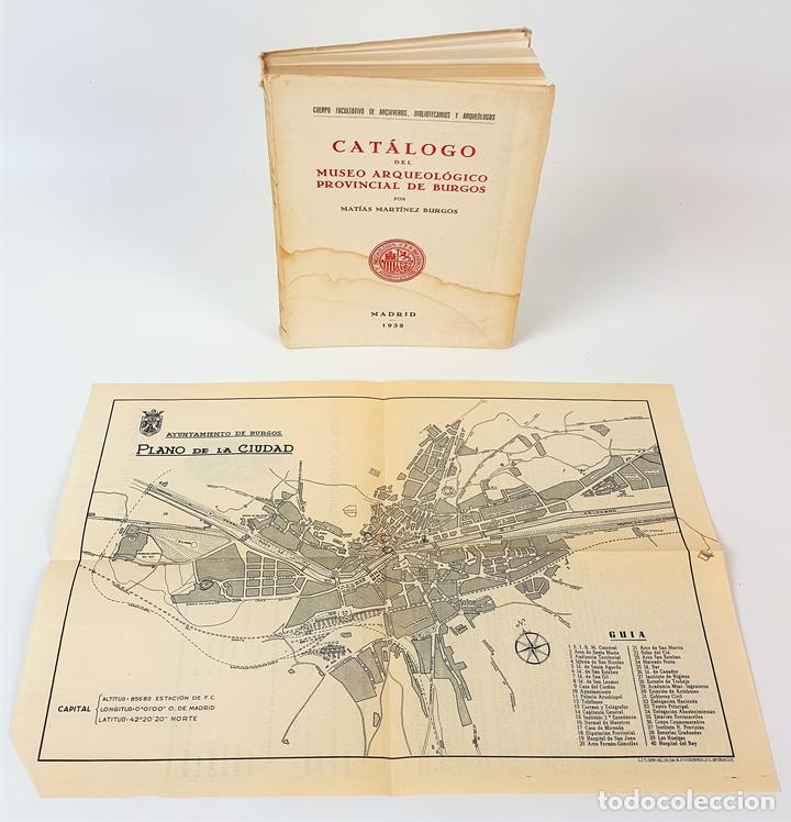 CATÁLOGO DEL MUSEO ARQUEOLÓGICO PROVINCIAL DE BURGOS. M.M.B. MADRID. 1935. (Libros Antiguos, Raros y Curiosos - Ciencias, Manuales y Oficios - Arqueología)