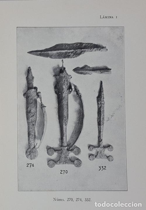 Libros antiguos: CATÁLOGO DEL MUSEO ARQUEOLÓGICO PROVINCIAL DE BURGOS. M.M.B. MADRID. 1935. - Foto 7 - 122351803