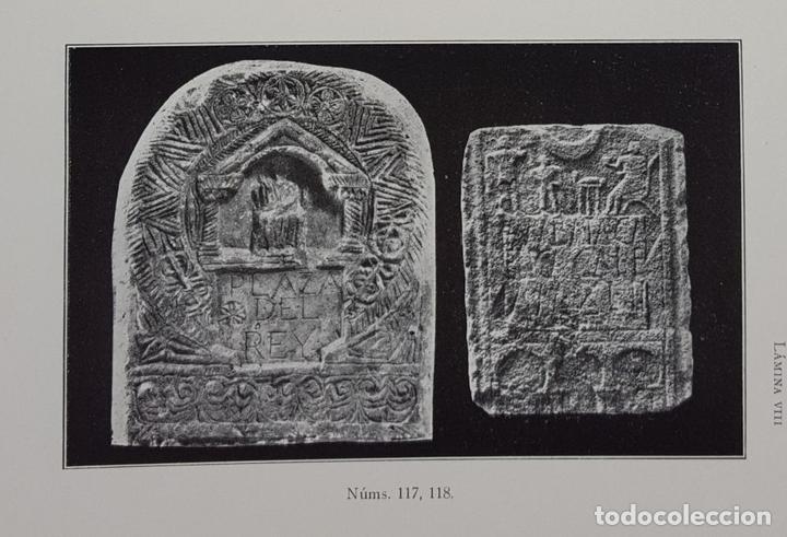 Libros antiguos: CATÁLOGO DEL MUSEO ARQUEOLÓGICO PROVINCIAL DE BURGOS. M.M.B. MADRID. 1935. - Foto 8 - 122351803