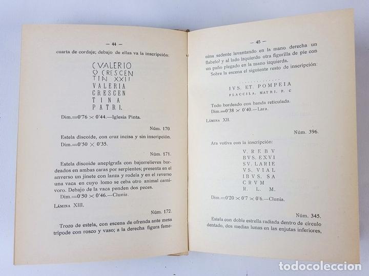 Libros antiguos: CATÁLOGO DEL MUSEO ARQUEOLÓGICO PROVINCIAL DE BURGOS. M.M.B. MADRID. 1935. - Foto 17 - 122351803